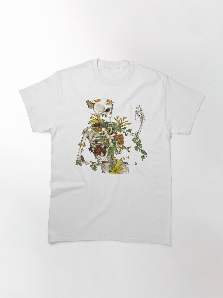 Alternate view of Bones and Botany Classic T-Shirt