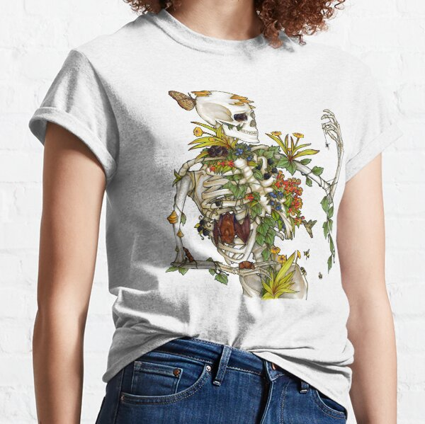 Bones and Botany Classic T-Shirt