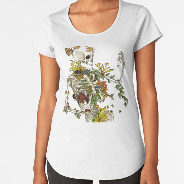 Bones and Botany Premium Scoop T-Shirt