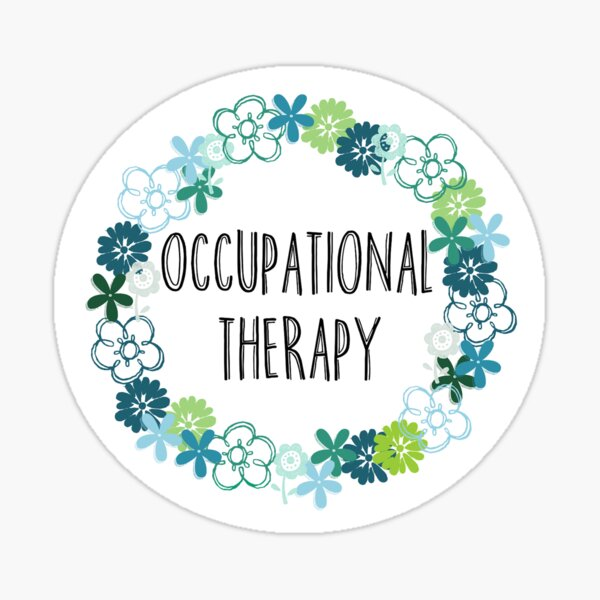 Portrait No Sleep Money Life Occupational Therapy Sticker