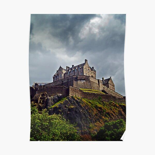 Edinburgh Castle, Scotland. Poster