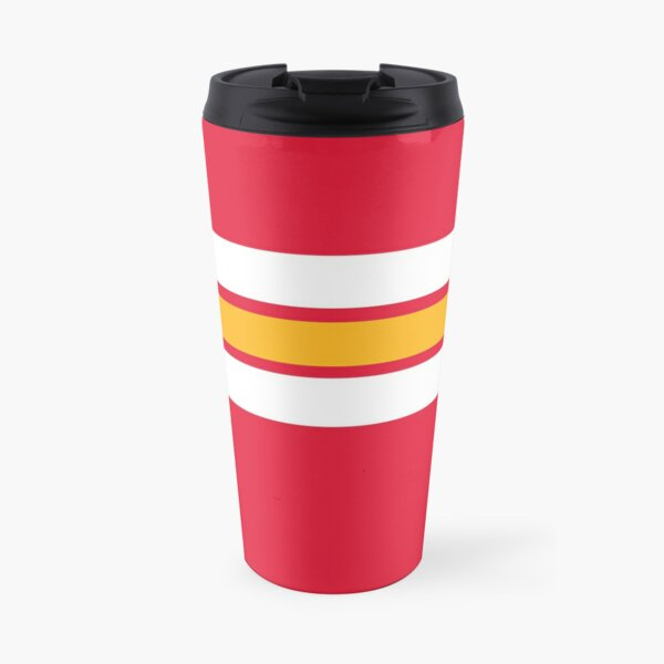 Chiefs Kingdom: Stripes Travel Mug