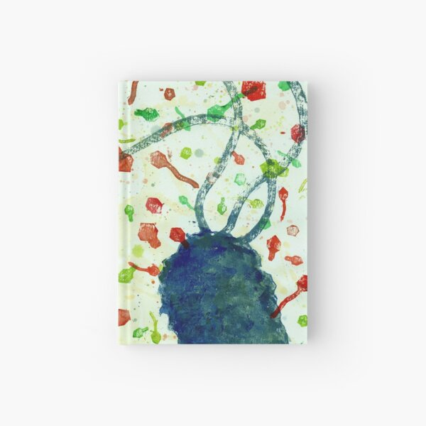 It's a phage world Hardcover Journal