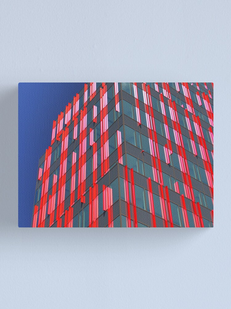 Alternate view of Red fins (1) Canvas Print