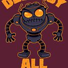 Destroy All Humans Angry Robot by fizzgig