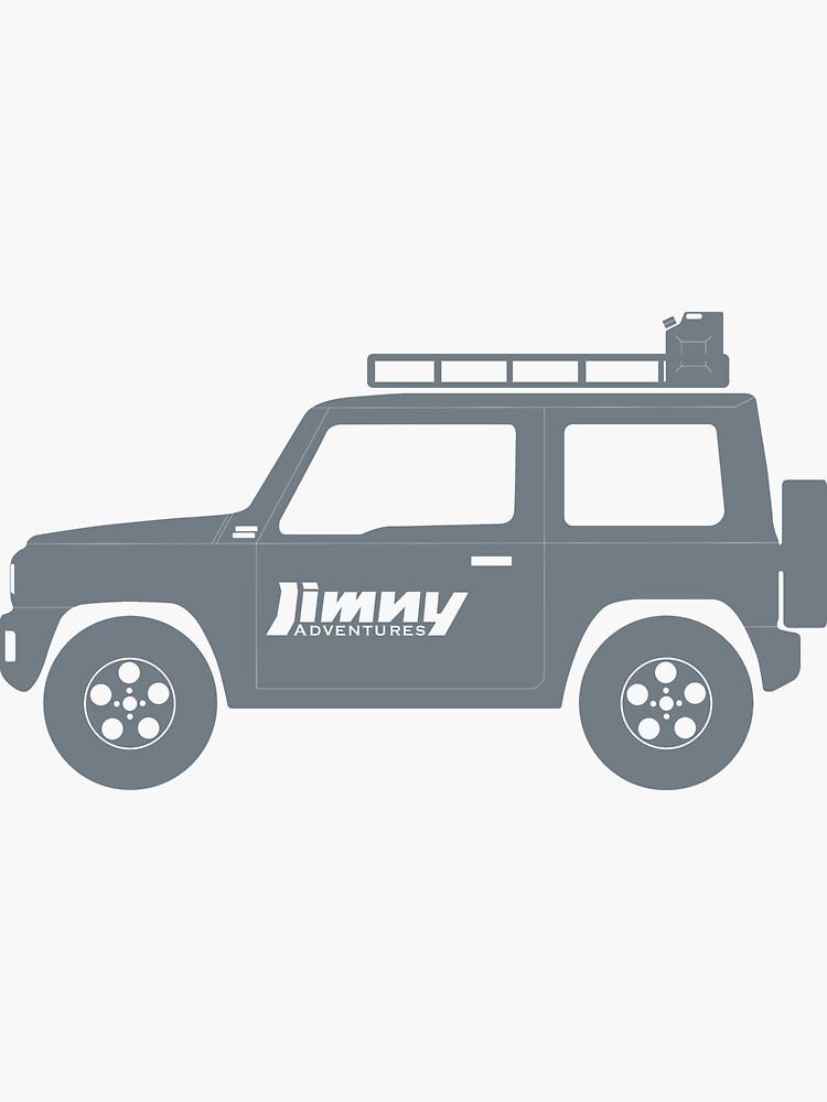 Geländewagen 4x4 Off Road Alle Gelände Rallye rf1 Aufkleber Jimny Ranger