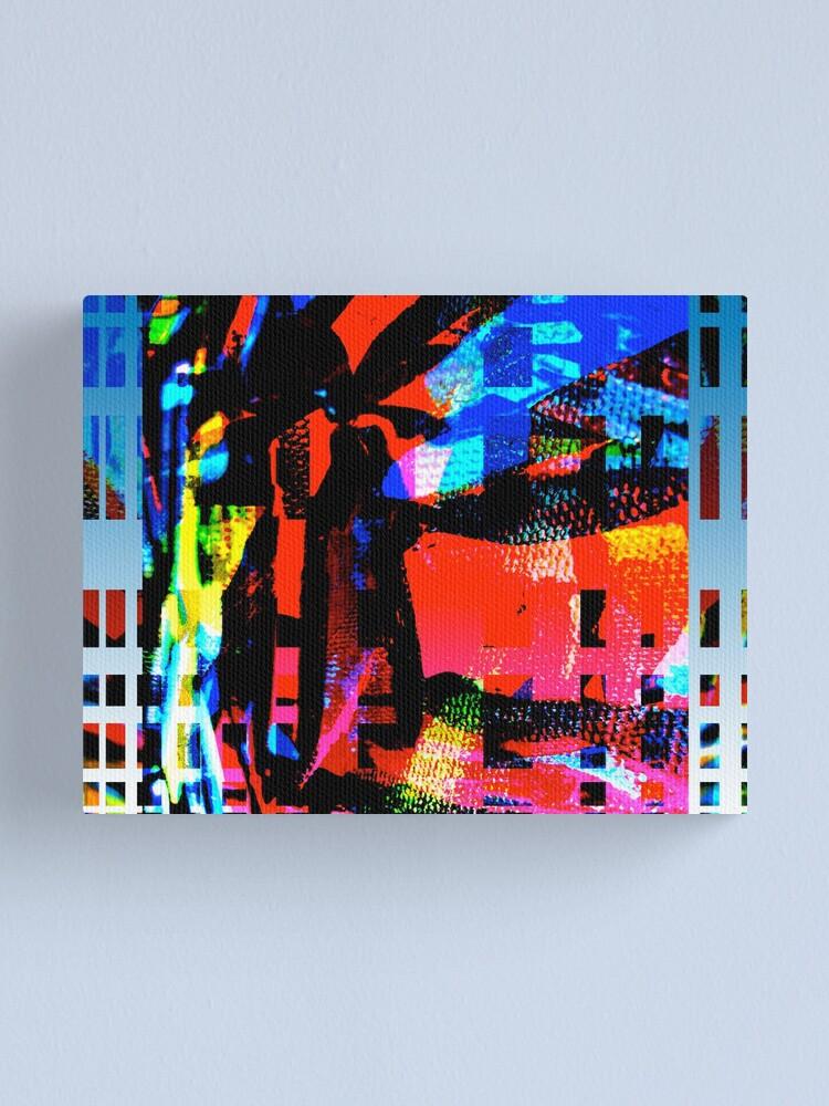 Alternate view of Vivid City Canvas Print