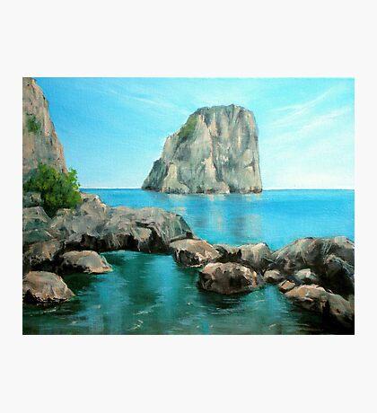 Faraglioni - Capri, Italy Photographic Print