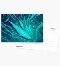 Oberfläche Postkarten