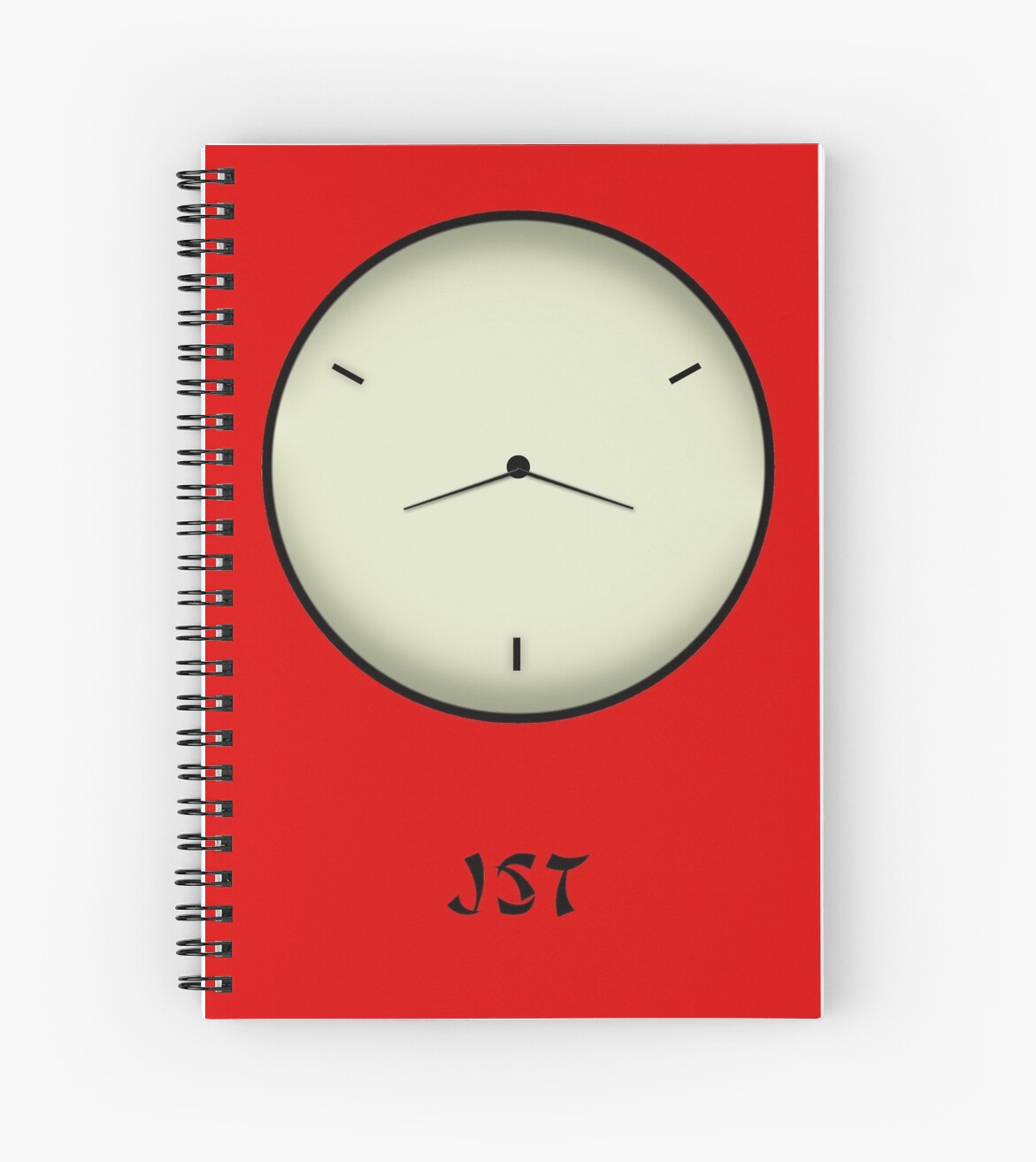 Japan Standard Time JST Clock by Denis Marsili