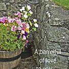 Barrelful of love --card by sarnia2