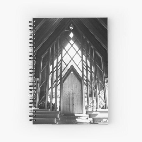 Rays of Light. Spiral Notebook