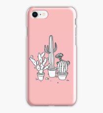 Cactus Doodle  iPhone Case/Skin