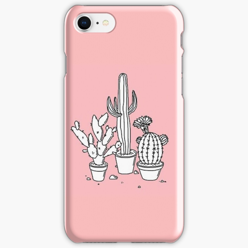 Cactus Doodle  iPhone Case & Cover
