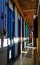 Appartments & hallway, La Guarida building, Havana, Cuba by David Carton