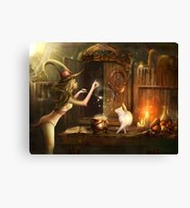 Touch of magic Canvas Print