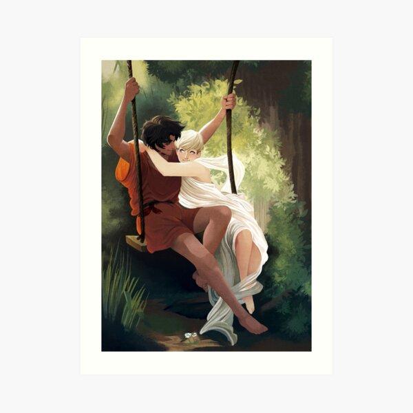 Devils on the swing Art Print