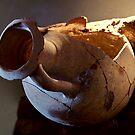 Greek Amphora by MariaVikerkaar