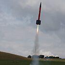 Rocket Launch by Peter Barrett