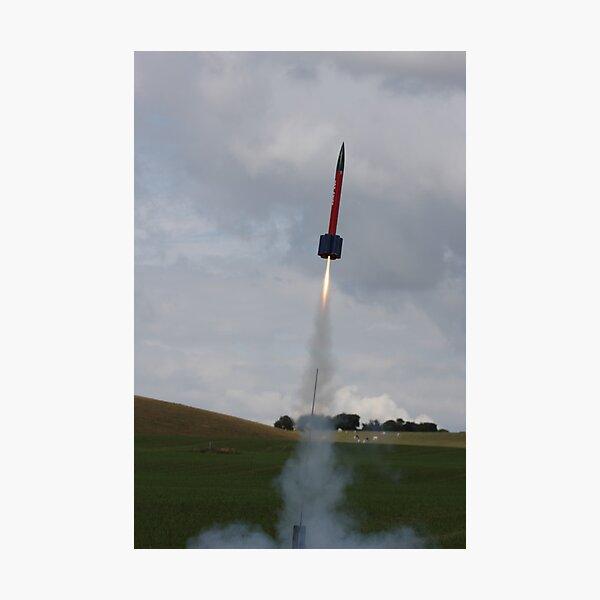 Rocket Launch Photographic Print