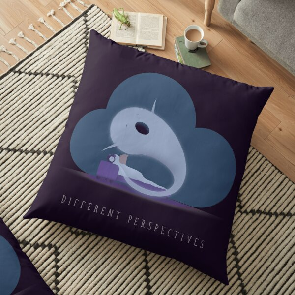 Different Perspectives Floor Pillow