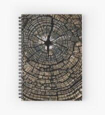 Georgia End Grain Spiral Notebook