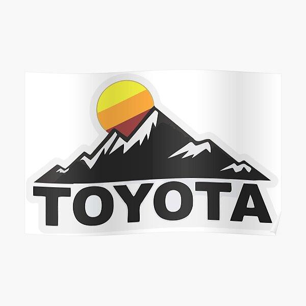 Toyota Fan Design Poster