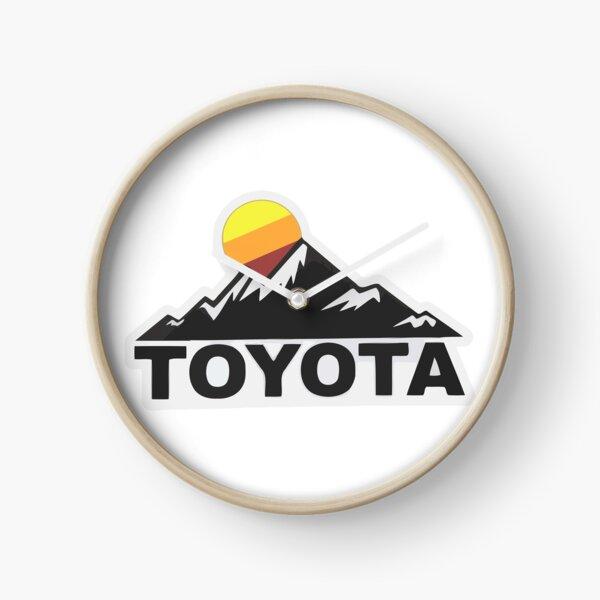 Toyota Fan Design Clock