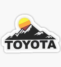 Toyota Fan Design Sticker