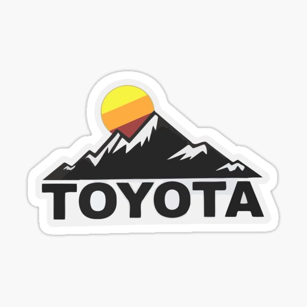 Toyota Fan Design Sticker