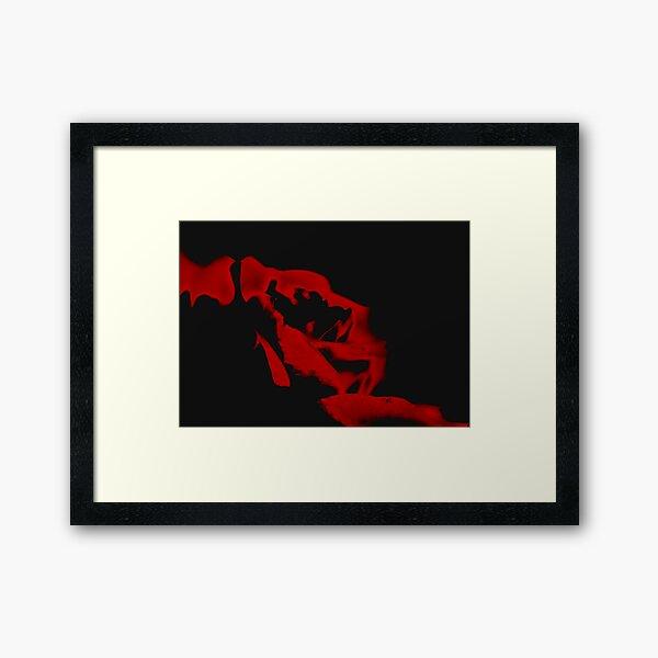 2 Tone Framed Art Print