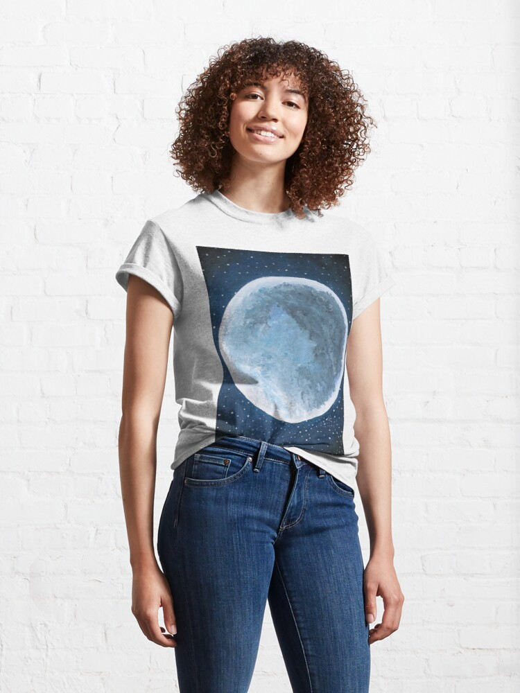 Alternate view of #Astronomy, #Cosmology, and #Astrophysics Class, Student's Visual Art #Project Classic T-Shirt