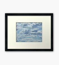 30 Clouds Framed Print