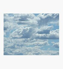 30 Clouds Photographic Print