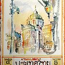 01-08-10 Thai Stamp : แสตมป์ไทย 5สตางค์ by BuaS