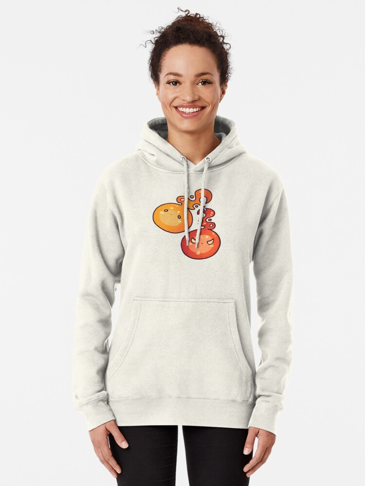 Alternate view of Fire Spirits Pullover Hoodie