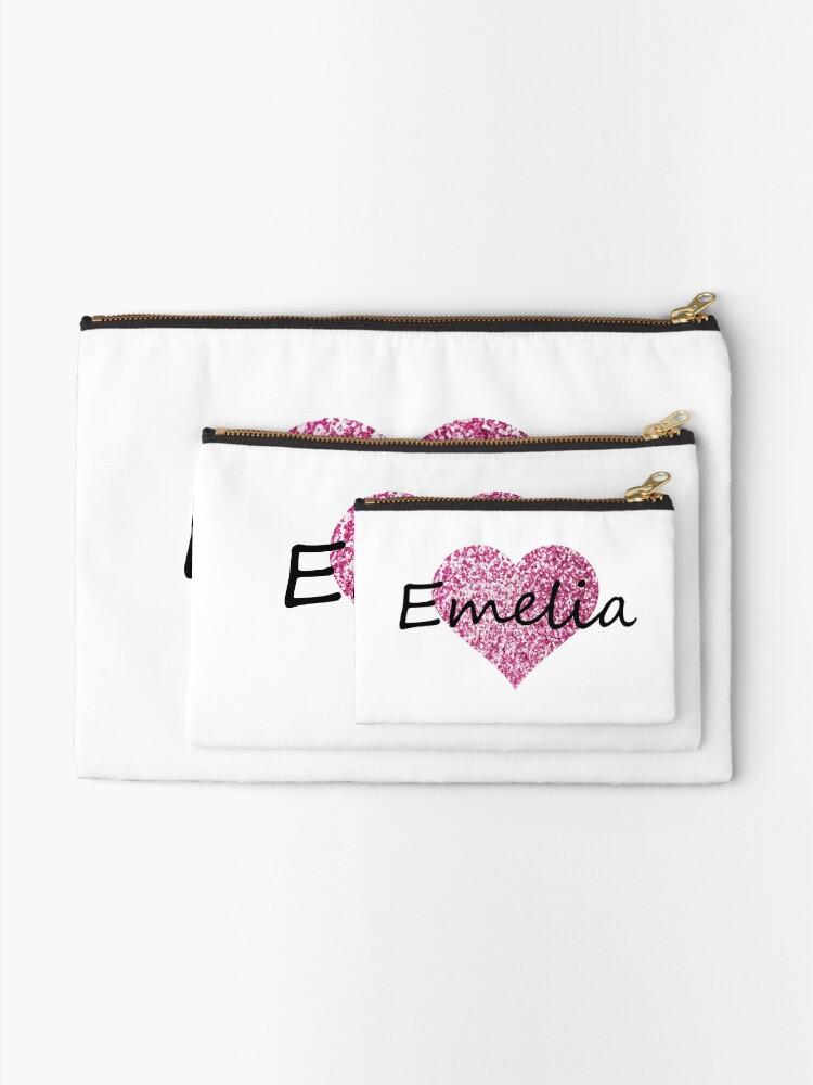 Vista alternativa de Bolsos de mano Corazón rosa emelia
