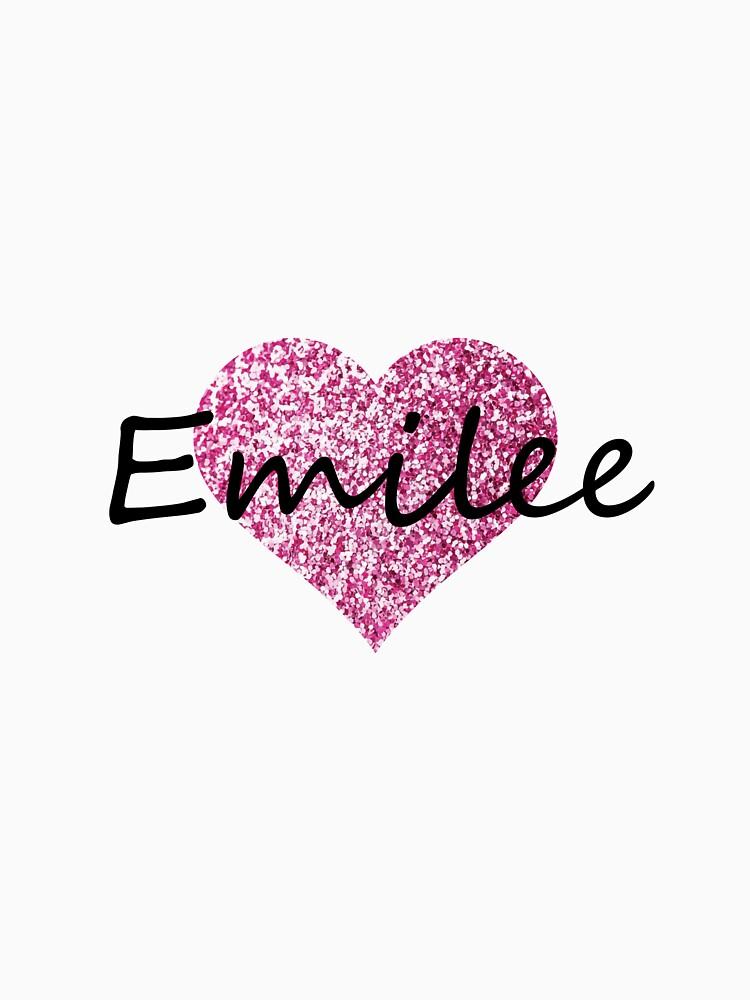 Corazón rosa emilee de Obercostyle