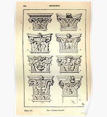 A Handbook Of Ornament With Three Hundred Plates Franz Sales Meyer 1896 0232 Supports Pilaster Capital Poster