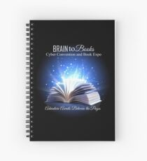 Brain to Books Cyber Convention Spiral Notebook