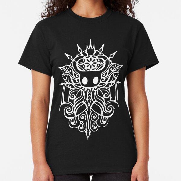 Hollow Knight Tribal White Classic T-Shirt