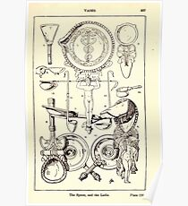 A Handbook Of Ornament With Three Hundred Plates Franz Sales Meyer 1896 0343 Vases Spoon Ladel Poster