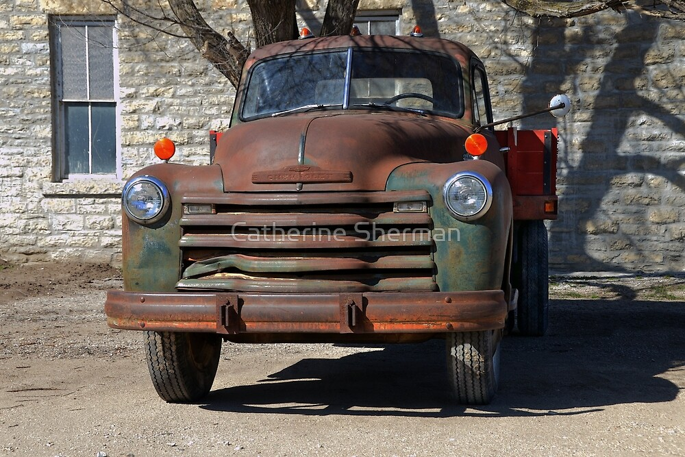 1953 Chevrolet Truck by Catherine Sherman