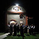 Jewish women praying at cemetery, Kozienice, Poland by Lukasz Godlewski