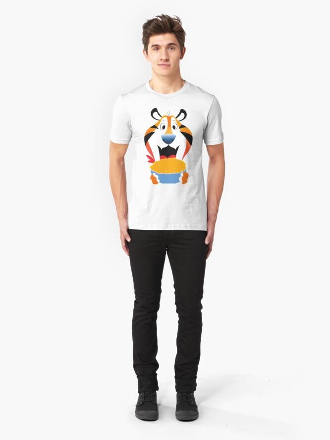 T-shirt ajusté ''Graou': autre vue