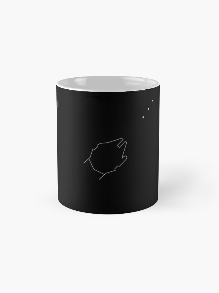Alternate view of The Falcon Asteroid Field Mugs
