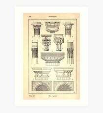 A Handbook Of Ornament With Three Hundred Plates Franz Sales Meyer 1896 0224 Supports Capital Art Print