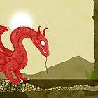 «Dragon & Woodland Cottage» de djrbennett