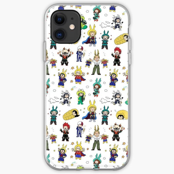 Onesie For All! BNHA Doodle iPhone Soft Case