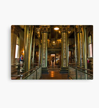 Papplewick Pumping Station Canvas Print
